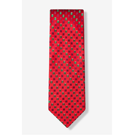 Holiday Gift Festive Red Tie
