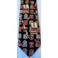 Cigar Tie in Black, Fun Gift For Him