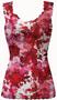Be Mine Print Mesh Lace Strap Camisole Bridal Lingerie L by Claire Pettibone