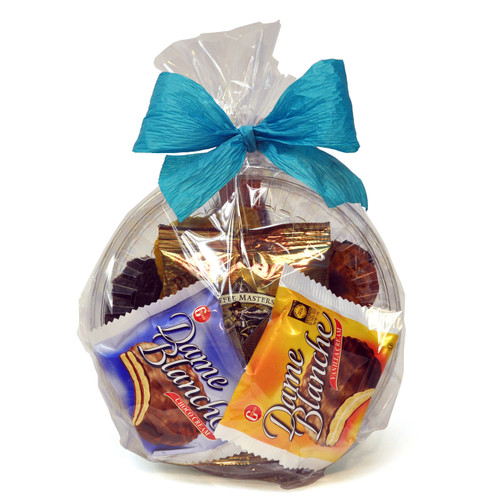 Coffee and Biscuits Kosher Purim Shalach Manot Gift Basket