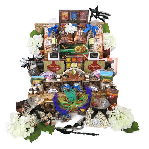 A Purim Deluxe VIP Kosher Supreme Gift Baskets