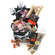 A Mishloach Manot Glitz and Glamour Kosher Purim Gift Basket