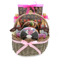 A Perfect Pink Kosher Purim Gift Basket