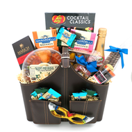A Big Upscale-Sophisticated Purim Mishloach Manot Gift Basket