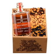 A Purim Bootlegger Bourbon Whiskey Kosher Gift Box