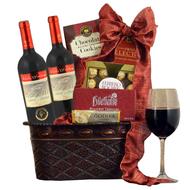 Neat Elegant Shiloh Secret Reserve Red Wine Duo Kosher Purim Gift Basket