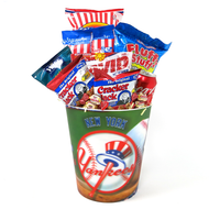 A Baseball Classic NY Yankees Kosher Purim Gift Basket
