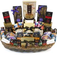 A Royal Golden Supreme VIP Purim Gift Basket