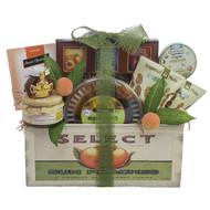 Classic Vintage Fruit Crate Kosher Purim Gift Basket