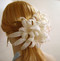 Bridal Veil Accessory Ivory Regal Lily Barrette Headwear Wedding Comb