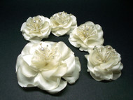 Bridal Wedding Accessories Ivory Magnolia Bridesmaids Hair Dress Clip