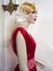 Exotic Bridal Hair Fascinator Sash Wedding Dress Feather Ivory Flower Bridal Dress Sash Wedding Dress Accessory