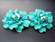 Gardenia Tiffany Something Blue Bridal Shoe Clip Accessories