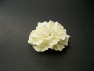 Ivory Small Gardenia Bridal Hair Flower Clip Wedding Veil Accessory