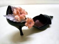 Rose Wedding Shoe Bridesmaid Accessory Golden Apricot Swarovski