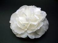 White Peony Wedding Dress Hair Flower Bridal Accessory First Communion