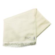Shawl Bridal Summer Stole 70% Cashmere 30% Silk in Off White