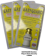 "3 Pack EASYGUARD Dusk till Dawn Random HOME SECURITY Adapter ""As Simple As Fitting A Light Bulb"" Bayonet Cap B22 BC"