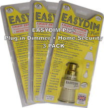 3 Pack Plug in Dimmer & Home Security