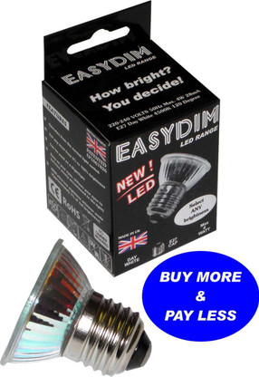 Self dimmable EASYDIM Spotlight E27 ES Day White