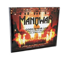 CD Double Digipak Gods Of War - Live  w/Enhanced Bonus Video