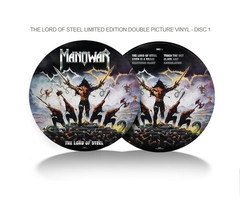 The Lord Of Steel Ltd. Edition Double Picture Vinyl + free CD