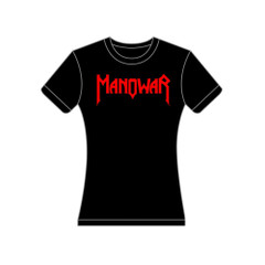 Ladies T-Shirt Sign Of The Hammer black