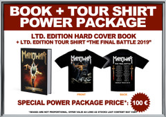 Power Package: Book + Ltd. Edition 2019 Tour Shirt