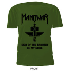 T-Shirt Sign Of The Hammer green Ltd. Edit. 40th Anniversary