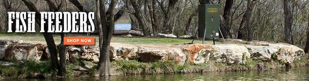 Fish Feeders By Texas Hunter Products