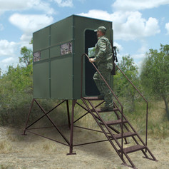 Texas Hunter Products Xtreme 4' Tower 4' x 8' Double Deer Blind