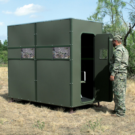 Xtreme Ground Blind 4' x 8' Double by Texas Hunter Products