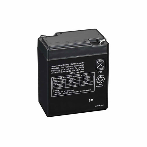Texas Hunter Products 6-volt rechargeable battery for deer feeders and wildlife feeders