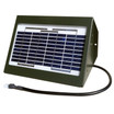 Powerful 2-watt, 12-volt Solar Charger for Directional Feeders by Texas Hunter Products