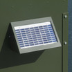 SP2W Solar Charger Close Up. 12-volt Solar Panel for Texas Hunter Directional Fish Feeders and Stand & Fill Directional Feeders.