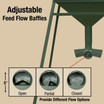 Adjustable Feed Flow Baffles