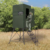 Xtreme 4' Tower Blind 4' x 4' Single Deer Stand by Texas Hunter Products