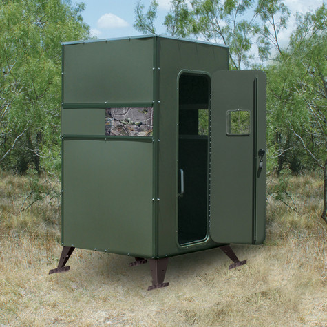 Texas Hunter Ground Blind With Full Door Hunting Blinds