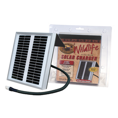 Texas Hunter Products 12 Volt Universal Solar Charger