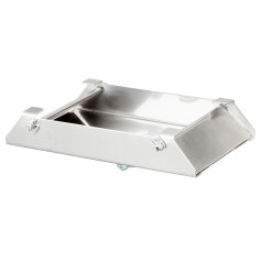 "Stainless Steel Deer Feeder Spin Plate for 1/4"" Motor Shafts by Texas Hunter Products"