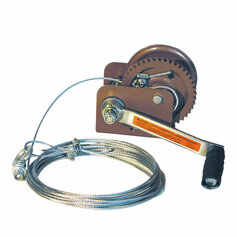 Texas Hunter Automatic Brake Winch for Deer Feeders and Texas Hunter EZ Lift Feeder Systems
