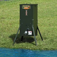 Texas Hunter 70 lb. Lake & Pond Fish Feeder with Adjustable Legs