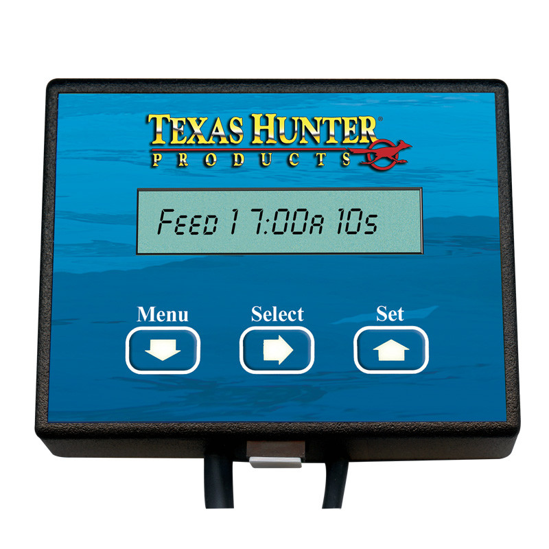 Digital feeder timers texas hunter directional fish for Texas hunter fish feeder