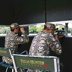 Clear Plexiglas Window Panel for Hide-A-Way Window System in Texas Hunter Products Deer Blinds