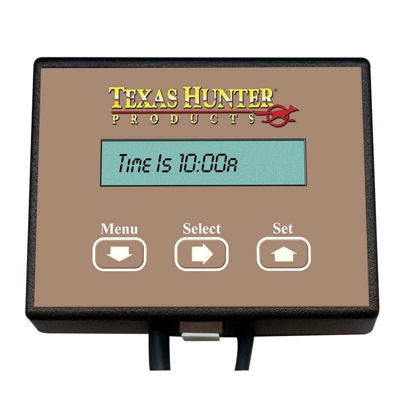 Deer feeder timers digital timer for directional for Texas hunter fish feeder
