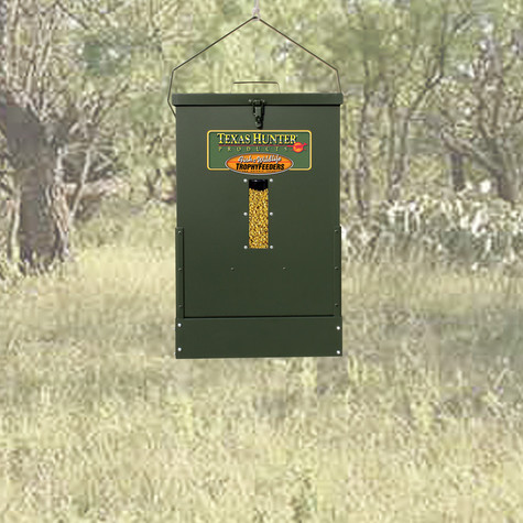 Texas Hunter 100 lb. Corn Capacity Hanging Wildlife Feeder