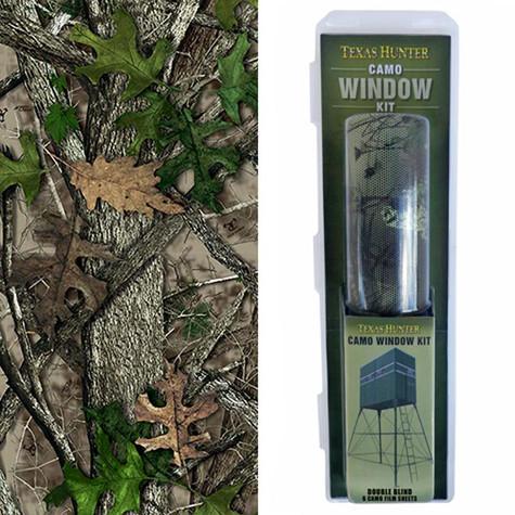 Double Blind Camo Window Kit & Pattern
