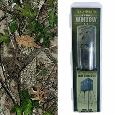 Double Blind Camo Window Kit & Pattern