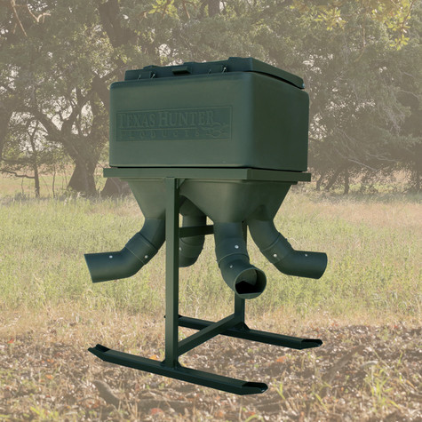 Texas Hunter 600 lb. Capacity Xtreme Protein Feeder Designed for Does & Fawns