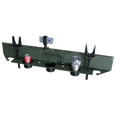 The Sportsman's Deer Blind Shelf and Shooting Rest by Texas Hunter Products.